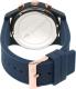 Lacoste Men's 12.12 2010827 Blue Silicone Analog Quartz Watch - Back Image Swatch