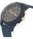 Lacoste Men's 12.12 2010827 Blue Silicone Analog Quartz Watch - Side Image Swatch
