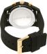 Lacoste Men's 12.12 2010826 Black Silicone Quartz Watch - Back Image Swatch