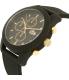 Lacoste Men's 12.12 2010826 Black Silicone Quartz Watch - Side Image Swatch