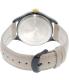 Timex Women's Waterbury TW2P74900 Beige Leather Quartz Watch - Back Image Swatch