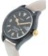 Timex Women's Waterbury TW2P74900 Beige Leather Quartz Watch - Side Image Swatch