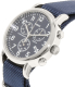 Timex Men's Weekender TW2P71300 Blue Nylon Quartz Watch - Side Image Swatch