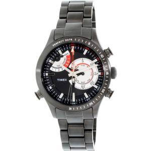 Timex Men's Intelligent Quartz TW2P72800 Black Stainless-Steel Quartz Watch
