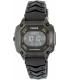 Pulsar Men's On The Go PW3003 Black Silicone Quartz Watch - Main Image Swatch