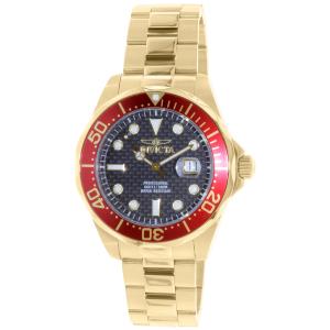 Invicta Men's Pro Diver 14359 Gold Stainless-Steel Swiss Quartz Watch