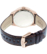 Fossil Women's Perfect Boyfriend ES3770SET Brown Leather Quartz Watch - Back Image Swatch