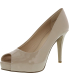 Nine West Women's Camya Synthetic Ankle-High Synthetic Pump - Main Image Swatch