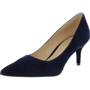 Nine West Women's Margot Suede Ankle-High Suede Pump