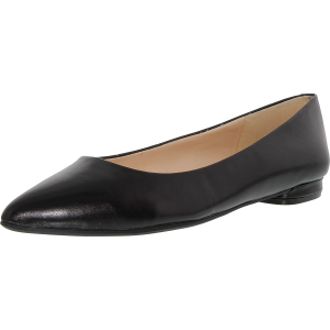 Nine West Women's Onlee Leather Ankle-High Leather Flat Shoe