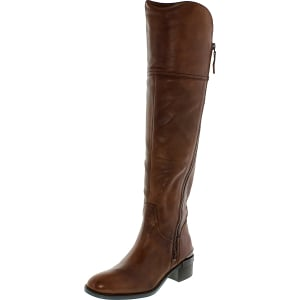 Vince Camuto Women's Dyani Leather Knee-High Leather Boot