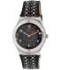 Swatch Women's Irony YLS184 Black Leather Quartz Watch - Main Image Swatch