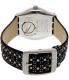 Swatch Women's Irony YLS184 Black Leather Quartz Watch - Back Image Swatch