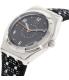 Swatch Women's Irony YLS184 Black Leather Quartz Watch - Side Image Swatch