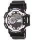 Casio Men's G-Shock GA400-1A Black Resin Quartz Watch - Main Image Swatch