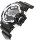 Casio Men's G-Shock GA400-1A Black Resin Quartz Watch - Side Image Swatch