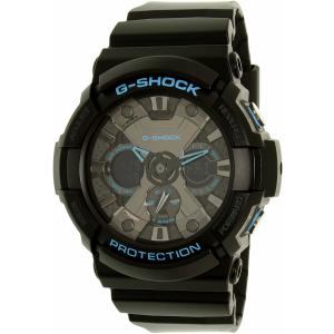 Casio Men's G-Shock GA201BA-1A Black Plastic Quartz Watch