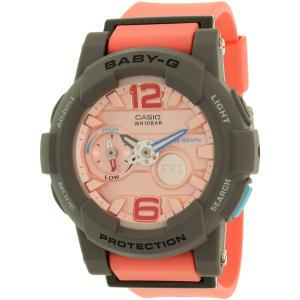 Casio Women's Baby-G BGA180-4B2 Pink Resin Quartz Watch