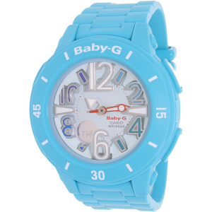 Casio Women's Baby-G BGA170-2B Blue Resin Quartz Watch