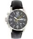 Invicta Men's I-Force 20129 Black Leather Quartz Watch - Main Image Swatch