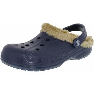 Crocs Men's Baya Plush Ankle-High Rubber Sandal