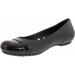 Crocs Women's Cap Toe Ankle-High Rubber Ballet Flat