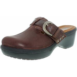 Crocs Women's Cobbler Buckle Ankle-High Synthetic Flat Shoe