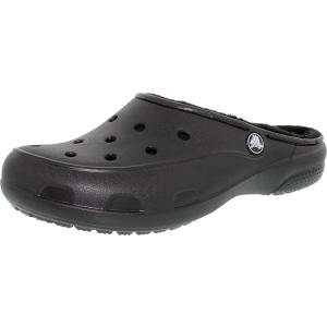 Crocs Women's Freesail Fuzz Ankle-High Rubber Flat Shoe