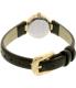 Kate Spade Women's Tiny Metro 1YRU0720 Black Leather Quartz Watch - Back Image Swatch