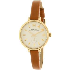 Marc by Marc Jacobs Women's Sally MBM1351 Gold Leather Swiss Quartz Watch