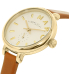 Marc by Marc Jacobs Women's Sally MBM1351 Gold Leather Swiss Quartz Watch - Side Image Swatch