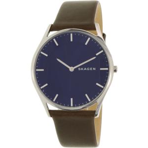 Skagen Men's Holst SKW6237 Brown Leather Quartz Watch