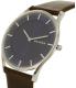 Skagen Men's Holst SKW6237 Brown Leather Quartz Watch - Side Image Swatch