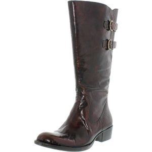 Born Women's Berry Leather Knee-High Leather Boot