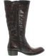 Born Women's Berry Leather Knee-High Leather Boot - Side Image Swatch