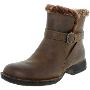 Born Women's Kaia Leather Ankle-High Leather Boot
