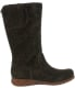 Born Women's Minnola Suede Knee-High Leather Boot - Side Image Swatch
