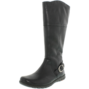 Born Women's Monaco Leather Mid-Calf Leather Boot