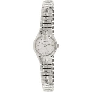 Pulsar Women's PC3195 Silver Stainless-Steel Quartz Watch