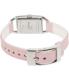 Puma Women's Sportlifestyle PU100172001 Pink Leather Analog Quartz Watch - Back Image Swatch
