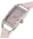 Puma Women's Sportlifestyle PU100172001 Pink Leather Analog Quartz Watch - Side Image Swatch