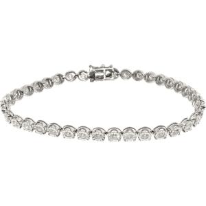 Exotic Identity Women's Ch Diamond Tennis Bracelet