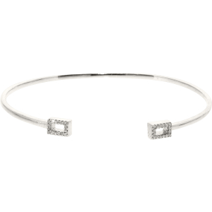 Exotic Identity Women's Chic Diamond Bangle Bracelet