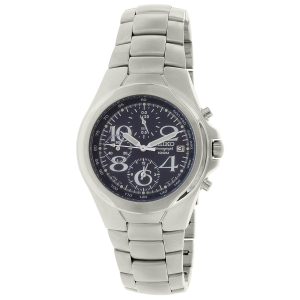 Seiko Men's SND333 Silver Stainless-Steel Quartz Watch