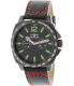 Invicta Men's Specialty 0857 Black Leather Swiss Quartz Watch - Main Image Swatch