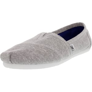 Toms Women's Classic Jersey Ankle-High Cotton Flat Shoe