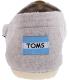 Toms Women's Classic Wool Low Top Wool Flat Shoe - Back Image Swatch