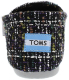 Toms Women's Classic Boucle Ankle-High Wool Flat Shoe - Back Image Swatch