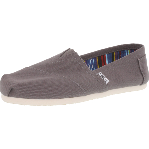 Toms Women's Classic Canvas Ankle-High Canvas Flat Shoe