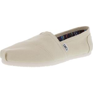 Toms Women's Classic Canvas Ankle-High Canvas Flat Shoe